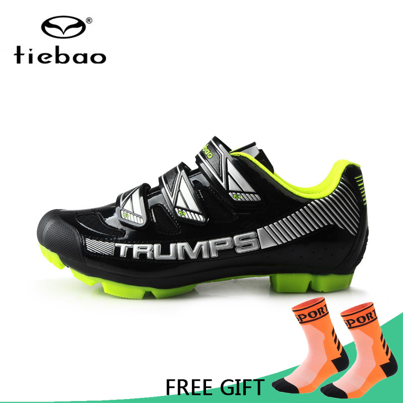 Tiebao Cycling Shoes Men MTB Bicycle Bike Racing Shoes Anti-Skid Wear-Resistant Self-Locking Athletic Shoes zapatillas ciclismo tiebao professional men bicycle shoes athletic racing mtb cycling bike mountain self locking shoes zapatillas ciclismo