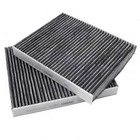 Genuine cabin filter for BMW F01 F02 F07 F10 64119163329 64119272642 Charcoal activated cabin filter set 64119163328 927264