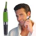 Homens máquina de Cortar Cabelo Barbeador portátil Cabelo Barbeador Aparador De Barba Bigode para Sobrancelha Cabelo Do Nariz da Orelha Da Bateria Operado