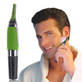 Portable Men Hair Clipper Shaver Hair Mustache Shaving Trimmer Shaver for Eyebrow Ear Nose Hair Battery Operated