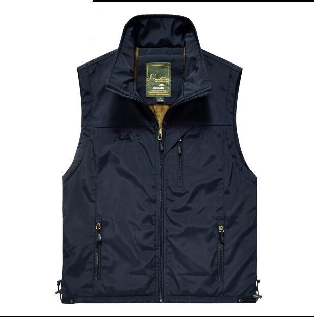 Free shipping Hot sale Quick Drying Vest Men Outdoors Casual Waistcoat Vest Mens Dress Vest