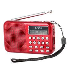 (tf) fm-радио жк-цифровой спикер музыкальный sd плеер micro карты usb мини