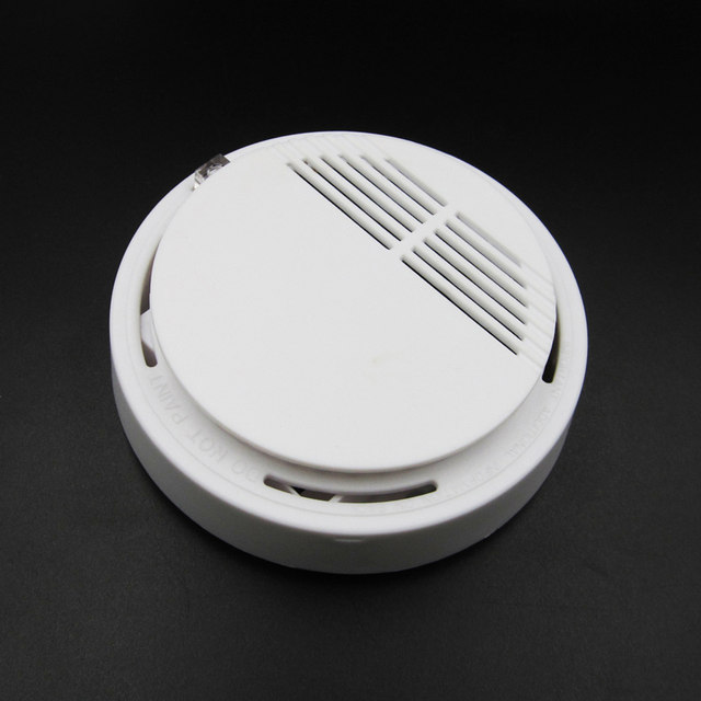 Wireless Alarm Security Smoke Fire Detector / Sensor For all GSM Alarm  System For Home House Office-in Integrated Circuits from Electronic  Components