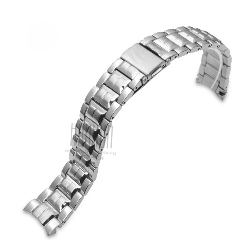 цена на The latest! Watch accessories for Casio SHN-3013D strap solid stainless steel band