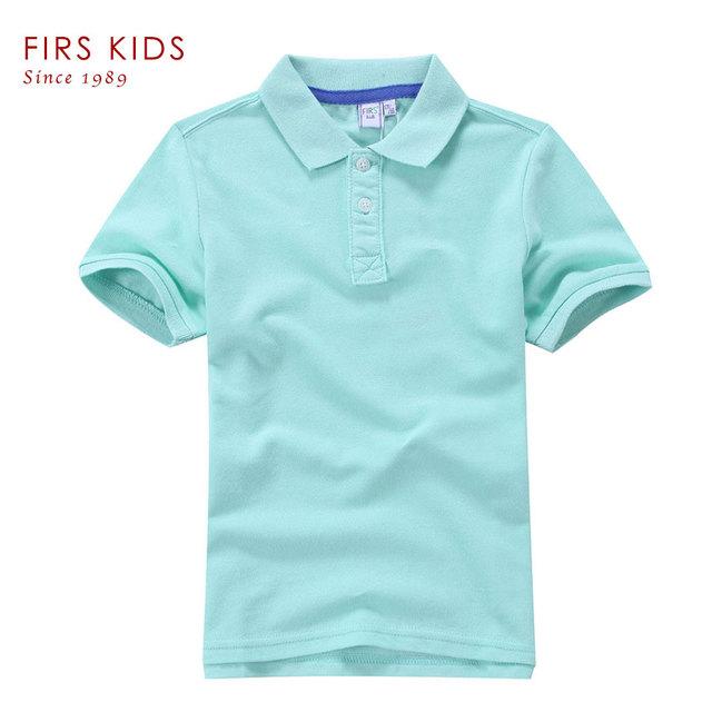 2016 FIRS crianças marca verão t da camisa meninos t - Shirts crianças camisas pólo crianças classic Sport camisetas de manga curta clothing-30