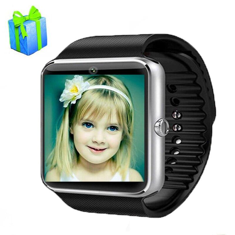 imágenes para GT08 SmartWatch Reloj inteligente Con Cámara Bluetooth Teléfono Android Tarjeta SIM MP3 de Fitness Inteligente A Prueba de agua Reloj de Pulsera de Reloj