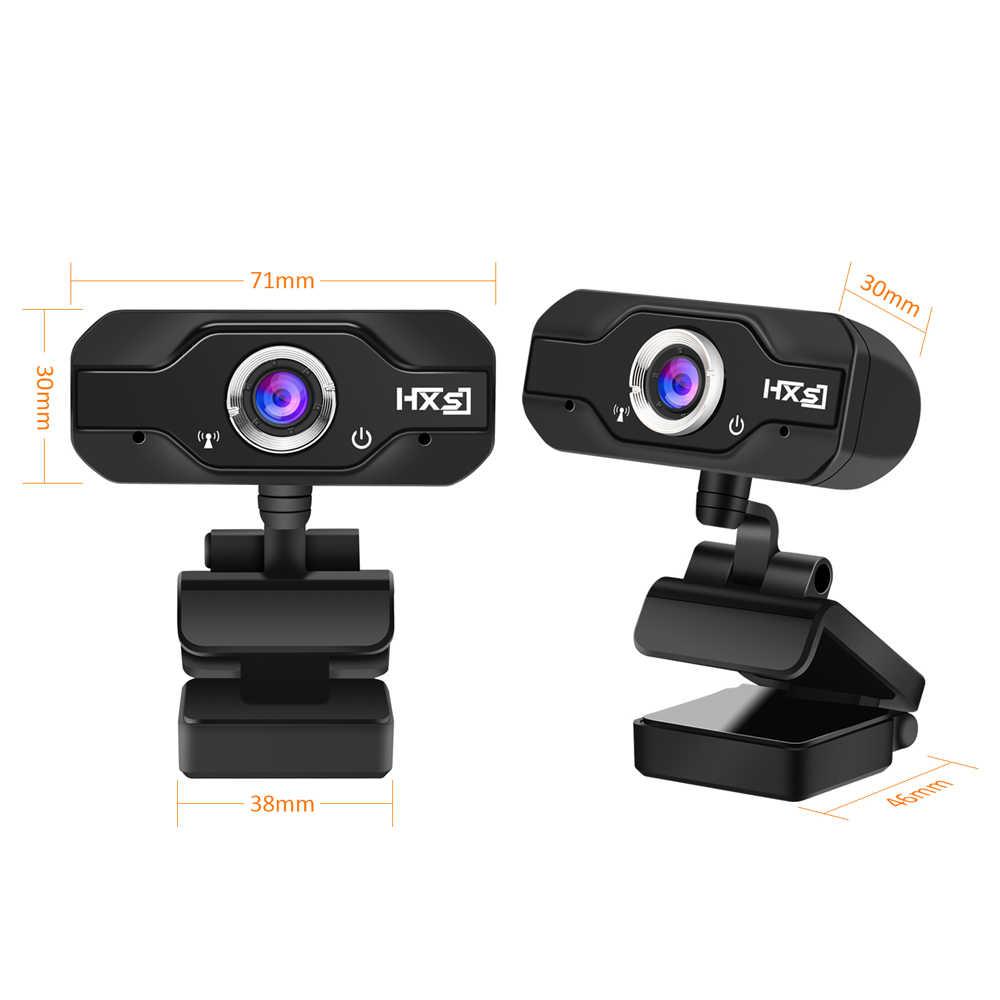 HXSJ S50 USB كاميرا ويب 720P HD 1MP كاميرا كمبيوتر كاميرا ويب مدمجة تمتص الصوت ميكروفون 1280*720 دقة ديناميكية