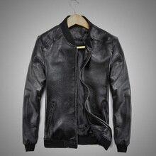Мужская куртка из овчины, зимняя куртка из натуральной кожи для мужчин, мотоциклетная куртка-бомбер из натуральной кожи, мужская куртка-Авиатор