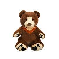 1pc super big bear doll soft Brown bear new arrival osos gigantes peluche giant teddy bear stuffed animal big plush toys