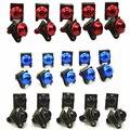 10 unids Universal CNC De Aluminio Tornillos Pernos de Carenado set Accesorios Para Todos Los modelos de La Motocicleta Rojo/Negro/Azul/plata