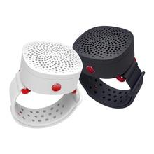 цена на Mini Portable Speaker Bluetooth Wireless Wrist Radio Stereo Hands Free Receiver Boombox Music Player Jack Desktop caixa de som