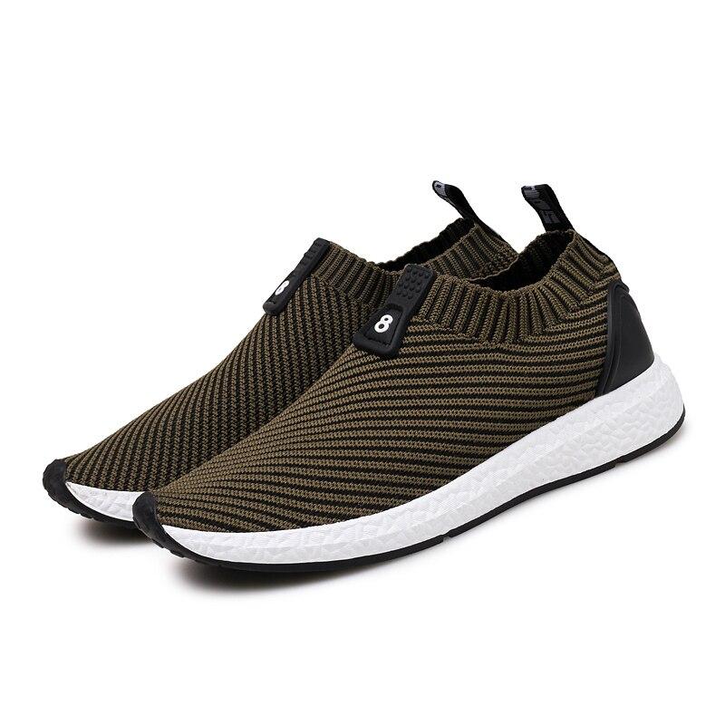 Mocasines Malla red Hombres Black Slip gray Zapatillas Cómodos Caliente Planos khaki Deporte 2018 Zapatos Transpirable Suaves Venta Masculinos Verano Nossica Casuales On De xq1PpwvWg