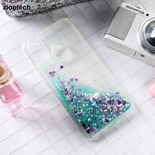 Soaptree Soft TPU Cases For Huawei Honor 20 20s Case Silicon Glitter Liquid Cover Y5 2019 Play Housing