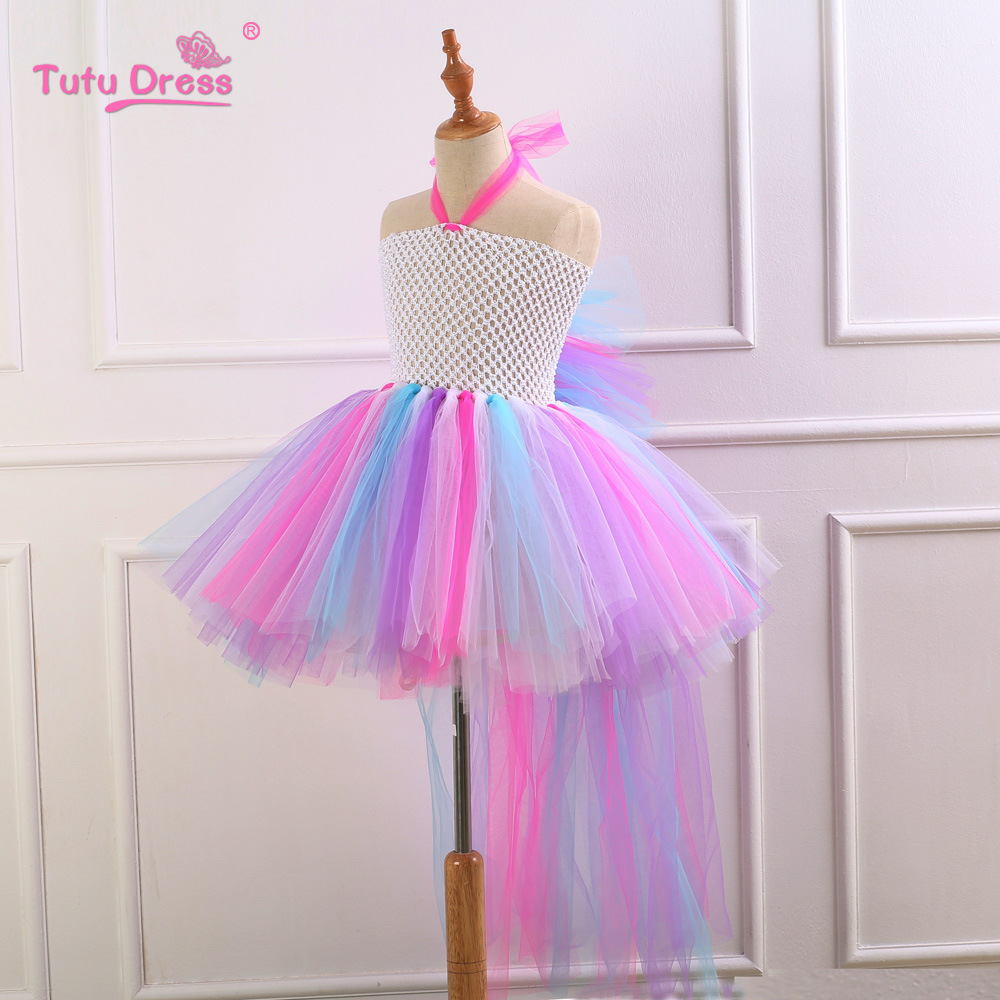 3a730450a787 Princess Unicorn Tutu Dress For Toddlers Unicornio Halloween Costumes Rainbow  Dress Wedding Birthday Party Christmas Vestidos-in Dresses from Mother &  Kids ...
