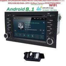 Бесплатная доставка! 4G WI-FI Android 8,1 автомобиль gps Navi для audi A4 2002-2008 S4 RS4 8E 8 H B6 B7 с BT, RDS DVD мультимедийный плеер радио