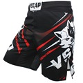 VSZAP hombres Muay Thai pantalones de boxeo de impresión pantalones cortos MMA lucha corta de poliéster patada Gel boxeo tailandés pantalones cortos MMA boxe