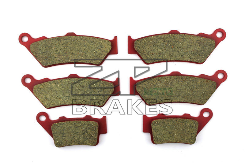 Motorcycle Brake Pads For DUCATI 992 Sport 1000 S 2007-2009 F+R New Ceramic Composite High Quality ZPMOTO motorcycle brake pads ceramic composite for triumph 800 tiger 2011 2014 front rear oem new high quality zpmoto