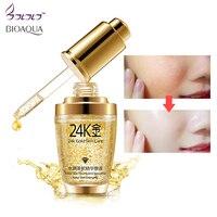 BIOAQUA 24K Gold Face Cream Whitening Moisturizing 24 K Gold Day Creams & Moisturizers 24K Gold Essence Serum New Face Skin Care Facial Self Tanners & Bronzers