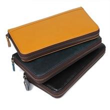 J.M.D Genuine Leather Unisex Business Card Holder Wallet Bank Credit Case ID Holders Women cardholder R-8440