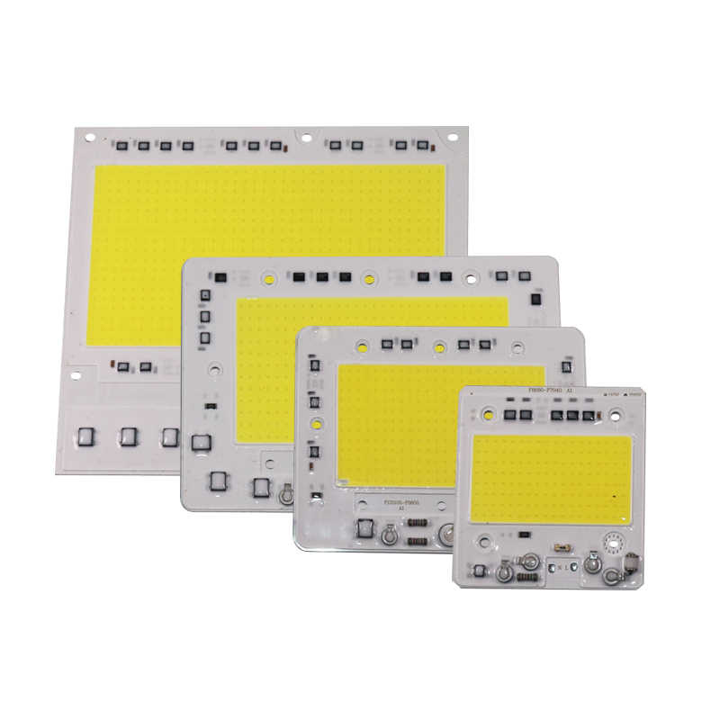 LED Matrix AC110V AC220V 50 W 100 W 150 W 200 W LED หลอดไฟอินพุตสมาร์ท IC Driver Fit สำหรับ DIY LED Floodlight Spotlight