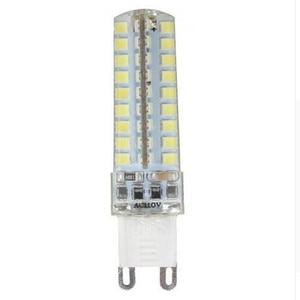 Image 1 - 50 יחידות מיני G9 מנורת LED 10 W ניתן לעמעום AC220V/110 V 2835 SMD 72LED נברשת אור הנורה תירס לבן חם/לבן משלוח חינם