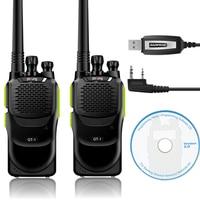 2 Pcs Baofeng Pofung GT 1 UHF 70cm 400 470MHz 5W 16CH FM Two Way Ham