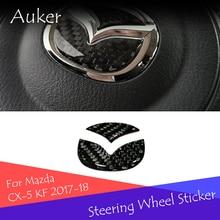 Auto Volante Logo Contorno Copertura Trim Sticker Decorazione Per Mazda 3 Axela BM BN 6 Atenza GJ1 GL CX-3 CX-5 Car Styling 2 pz