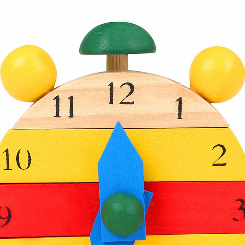 Fulljion puzzle wooden clock DIY Educational Educational toys for children Montessori Tangram puzzle maze 3D puzzle toy