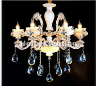 Hot Selling Free Shipping New Fashion Chandelier With Crystal Pendant For Living Room E14 Candle Light LED Chandelier AC Designs