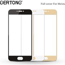 GerTong Full Cover Screen Protector for MEIZU M3S Mini M5 Note MX6 M3E Pro 6 7 U10 20 M5S M5C Case Tempered Glass Toughened Film