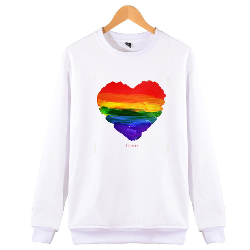 Lgbt Hoodies Love Wins Female Bisexual Lesbian Gay Love Is Love Women Princess Prince Hoodie Pullover Kawaii Femme Sweatshirt