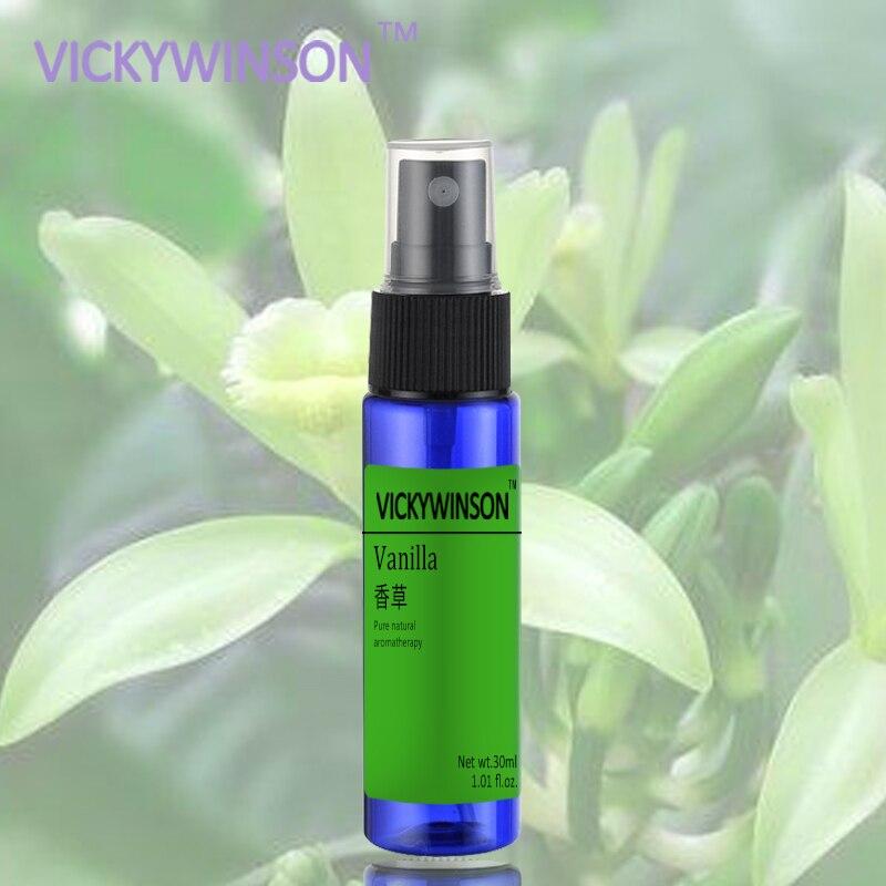 Vanilla Underarm Antiperspirant Spray Summer Body Odor Cleansing Deodorant Spray 30ml