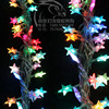 Colorful Night Light Christmas Tree 10 Meters Small Five Pointed Star Lights Led Holiday Lights Christmas