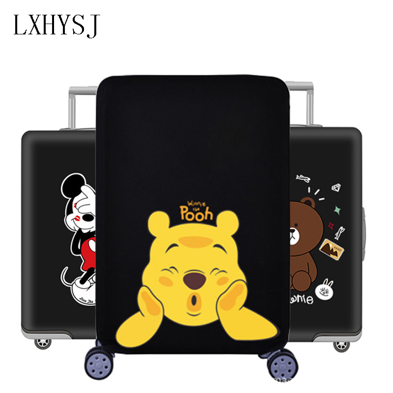 New Thicken Luggage Cover Elasticity Luggage Protective Covers Suitable19-32 Inch  Suitcase Case Dust Cover Travel Accessories