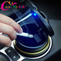 Car Storagebox and Ashtray with LED light For Kia Sportage Kx5 2016 2017 refitting accessories