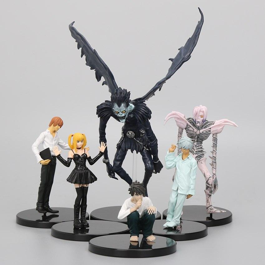 Anime 6 Pçs/set 6 24 Cm PVC Death Note Misa Amane Rem