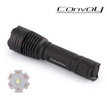 Free shipping Convoy M1 Powerful Flashlight  Cree XM-L2 U2-1A 1000lm LED Flashlight 1*18650 Bettery