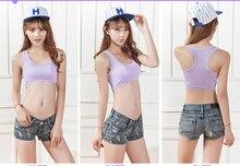 Lightweight Cotton Padded Girls Bra Women Sports nursing Bra Running Gym Yoga shirt Wirefree Underwear Fitness