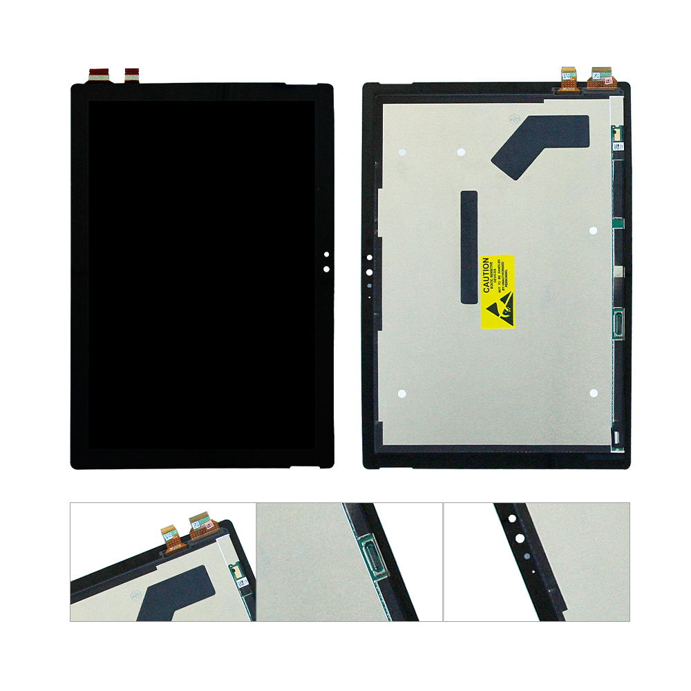 Per Microsoft Surface Pro 4 1724 Display LCD Touch Screen Digitizer Assembly RimontaggioPer Microsoft Surface Pro 4 1724 Display LCD Touch Screen Digitizer Assembly Rimontaggio