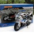 Envío Gratis Nuevo Muy Fresco S1000RR Super Moto 1/12 Escala Diecast Metal Modelo de La Motocicleta de Juguete De Colección/Regalo/niños
