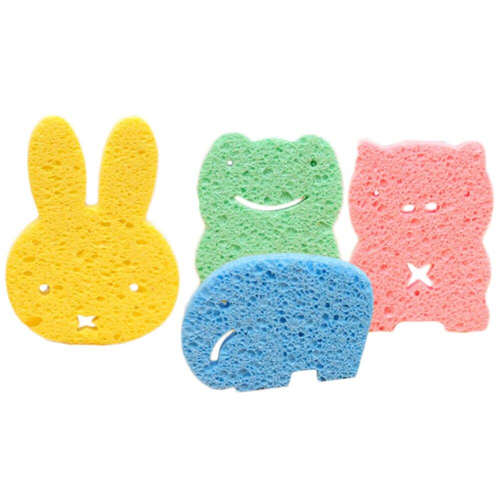 Cheap Price Baby Kids Cute Elephant Bath Brushes Bath Sponge Baby Shower Convenient Product Furniture