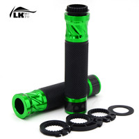 5 colors New Wholesale motorcycle CNC handlebar grip&handlebar ends fit 7/8