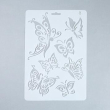 Butterfly Reusable Stencil For Scrapbooking Stamping Embossing Paper Card Drawing Template Stencil Crafts Bullet Journal Stencil butterfly reusable stencil for scrapbooking stamping embossing paper card drawing template stencil crafts bullet journal stencil
