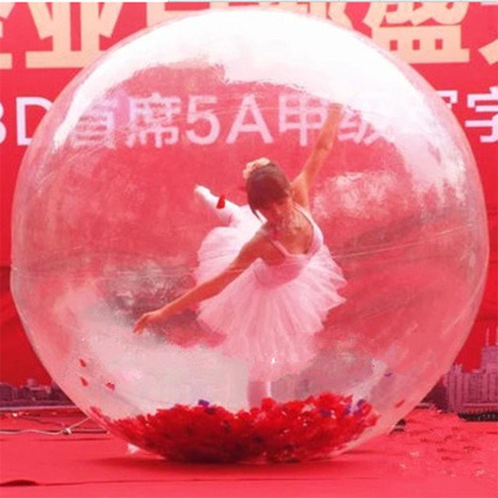 Livraison gratuite usine transparente marche sur boule d'eau, boule de marche gonflable de l'eau, boule de Zorb pour piscine d'eau - 2