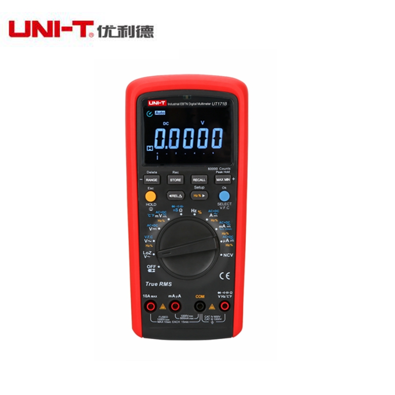 UNI-T UT171B Digital Multimeter Eletronic AC DC True RMS Auto/Manual Range Admittance (nS) C/F Thermometer VFC LCD Backlight
