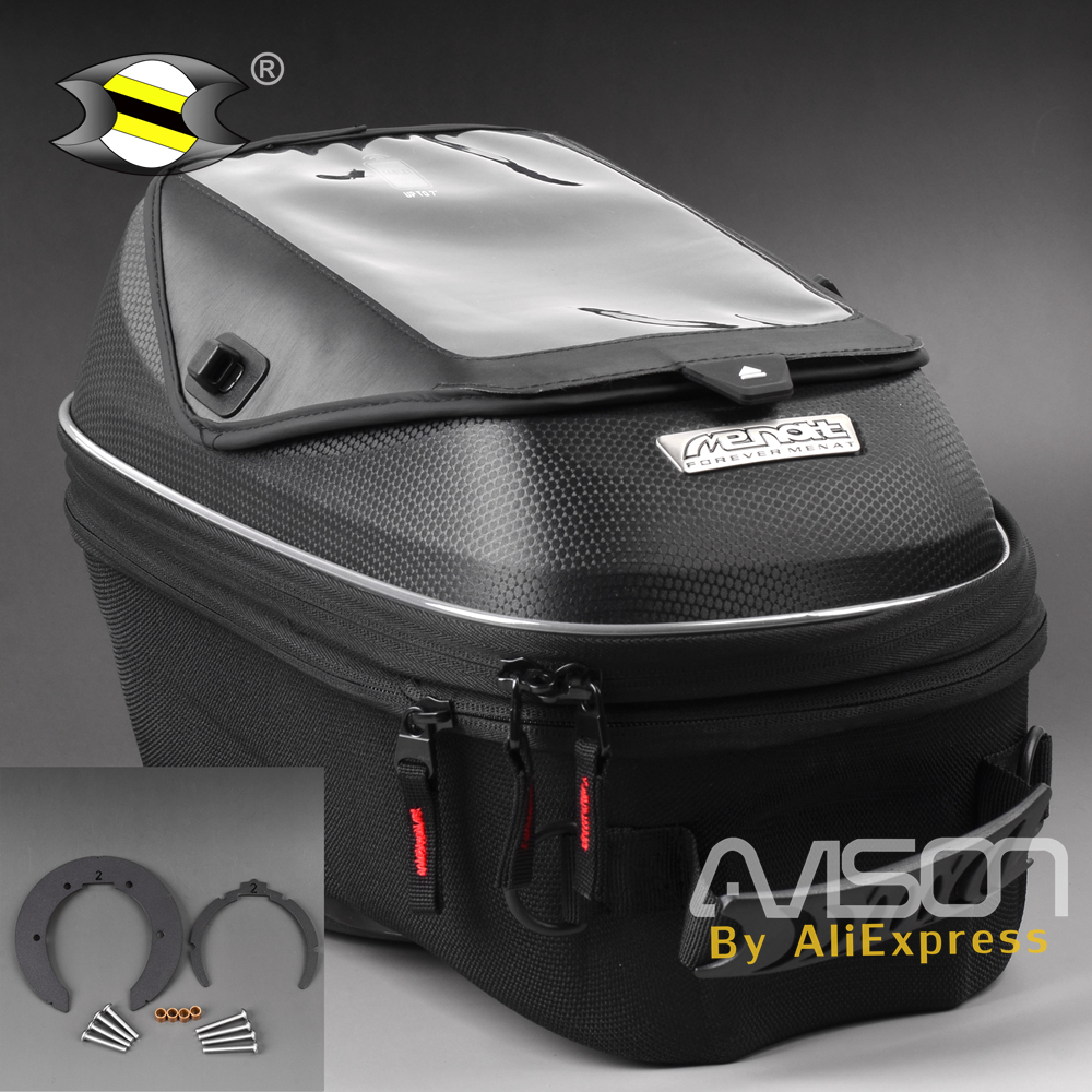 Motor Tank Bag Fit for Aprilia Shiver 750 10-15 / Benelli BN600 13 -15 / MV Agusta Brutale 675-800 13-15 motorcycle expandable magnet and mechanical ring fix tank bag racing backpack for benelli bn600 tre 899 k