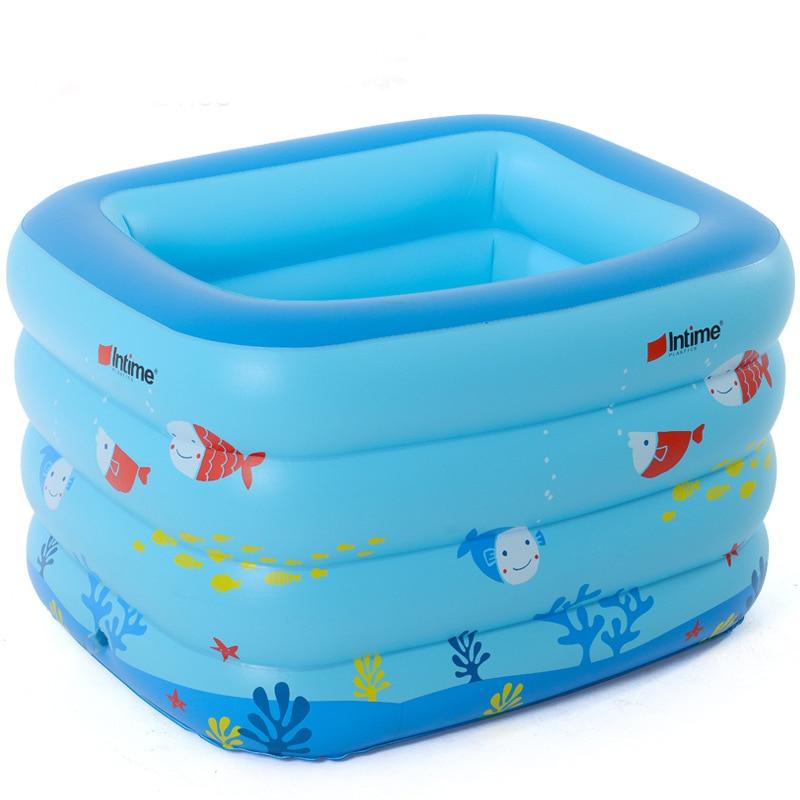 2016 nouveau extérieur Havuz PVC Zwembad gonflable bébé baignoire enfants Piscina Piscinas imprimé piscine taille 120*105*75 cm