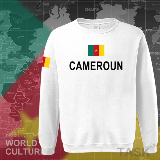 Cameroon hoodies men sweatshirt sweat new hip hop streetwear tracksuit nation footballer sporting flag CMR Cameroun Cameroonian 5
