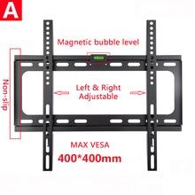 Universal Fixed TV Wall Mount Bracket  Flat Panel Ultra Slim TV Frame for LCD LED Monitor Flat Panel film mask for 6av7 861 1tb10 1aa0 flat panel 12t extended