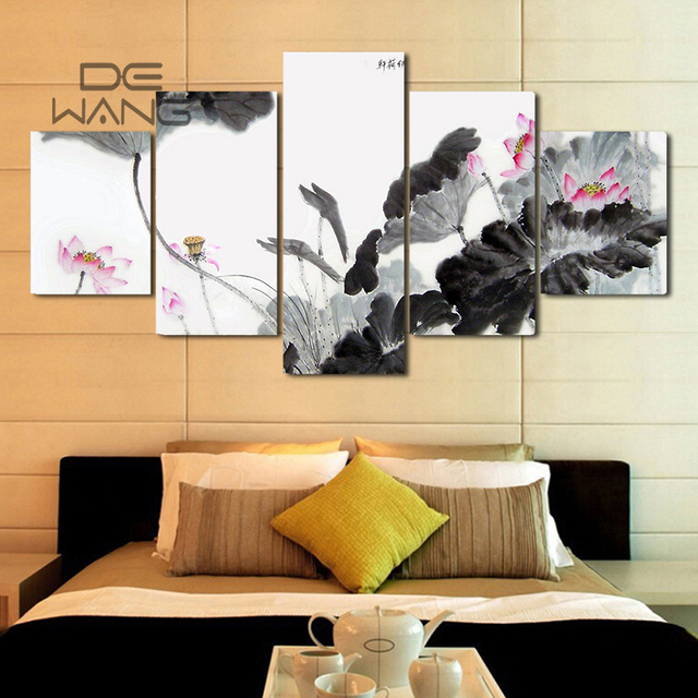 China 5 Piece Canvas Art Wall Pictures Painting By Numbers Posters ...